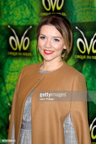 Candice Brown attends the Cirque du Soleil OVO premiere at Royal Albert Hall on January 10 2018 in London England