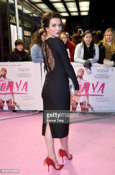Candice Brown attends the 'I Tonya' UK premiere held at The Curzon Mayfair on February 15 2018 in London England