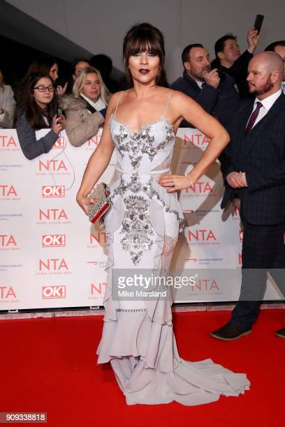 Candice Brown attends the National Television Awards 2018 at The O2 Arena on January 23 2018 in London England