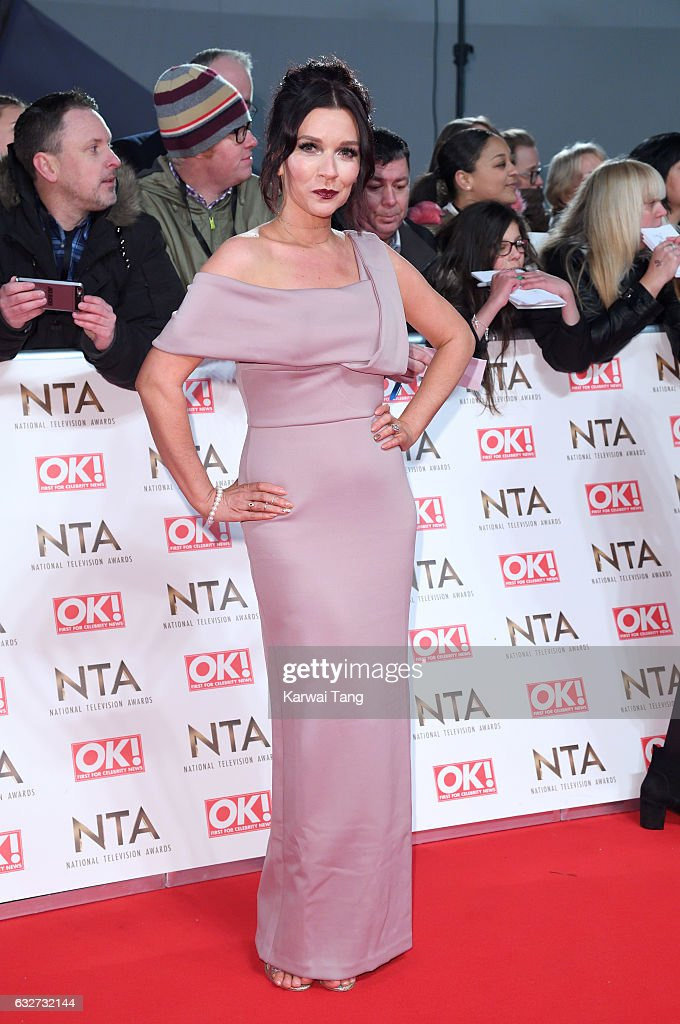 Candice Brown attends the National Television Awards at The O2 Arena on January 25, 2017 in London, England.