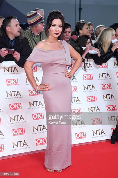 Candice Brown attends the National Television Awards at The O2 Arena on January 25 2017 in London England