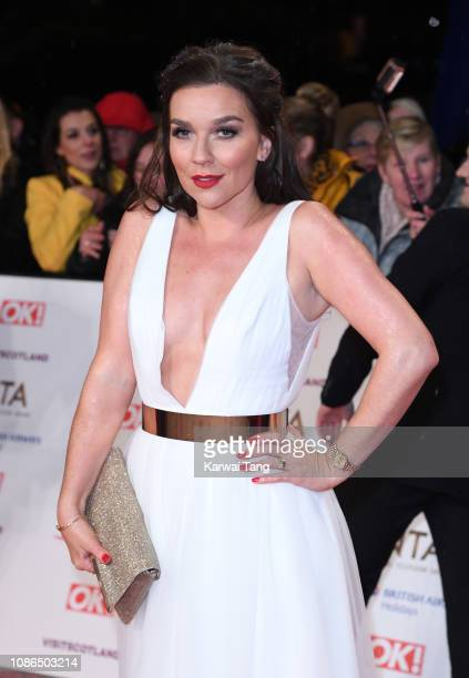 Candice Brown attends the National Television Awards held at The O2 Arena on January 22 2019 in London England
