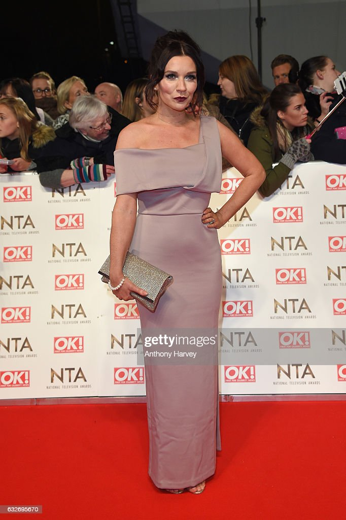Candice Brown attends the National Television Awards on January 25, 2017 in London, United Kingdom.