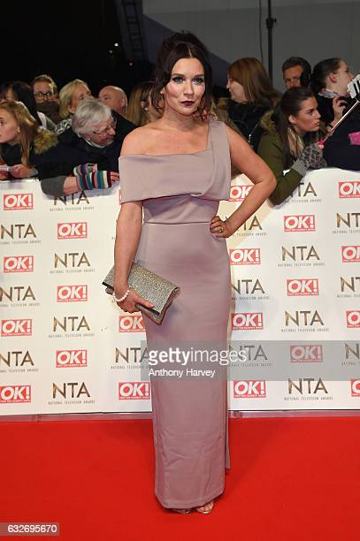 Candice Brown attends the National Television Awards on January 25 2017 in London United Kingdom
