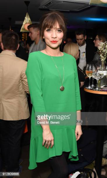 Candice Brown attends the press night performance of 'Eugenius' at The Other Palace on January 31 2018 in London England