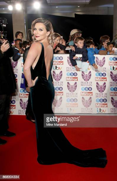 Candice Brown attends the Pride Of Britain Awards at Grosvenor House on October 30 2017 in London England