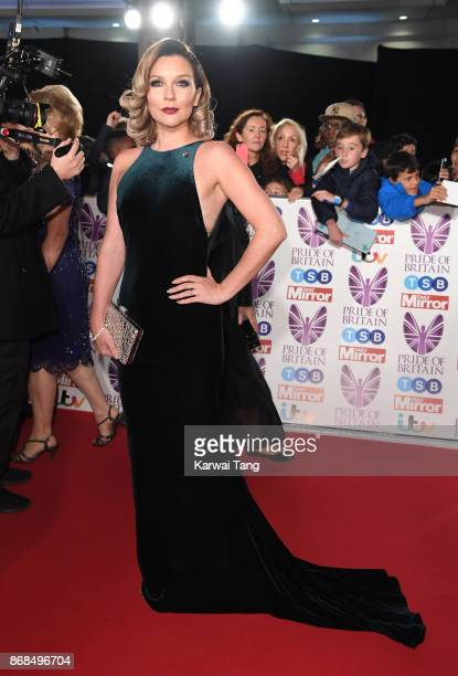 Candice Brown attends the Pride Of Britain Awards at the Grosvenor House on October 30 2017 in London England
