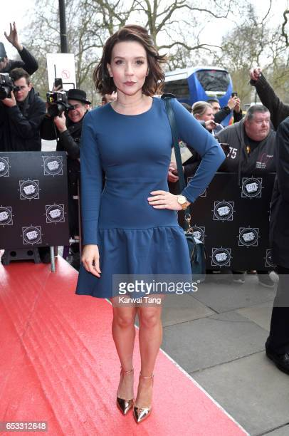 Candice Brown attends the TRIC Awards 2017 at the Grosvenor House on March 14 2017 in London United Kingdom