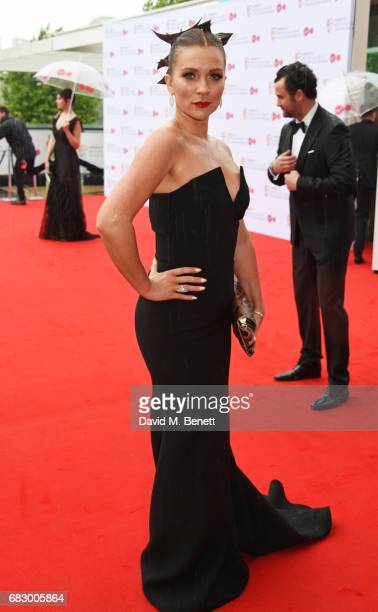 Candice Brown attends the Virgin TV BAFTA Television Awards at The Royal Festival Hall on May 14 2017 in London England