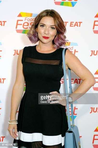 Candice Brown pictured at the VIP launch of Just Eat Food Fest Desert Island Dishes in Red Market London The threeday desert islandinspired street...