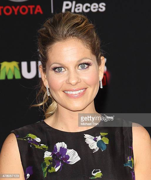 """Candice Cameron Bure arrives at the Los Angeles premiere of """"Muppets Most Wanted"""" held at the El Capitan Theatre on March 11, 2014 in Hollywood,..."""