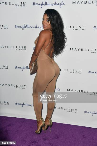 Candice Craig attends Maybelline's Los Angeles Influencer Launch Event at 1OAK on August 10 2017 in West Hollywood California