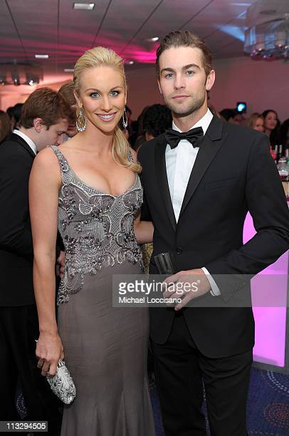 Candice Crawford and actor Chace Crawford attend the TIME/CNN/People/Fortune White House Correspondents' dinner cocktail party at the Washington...
