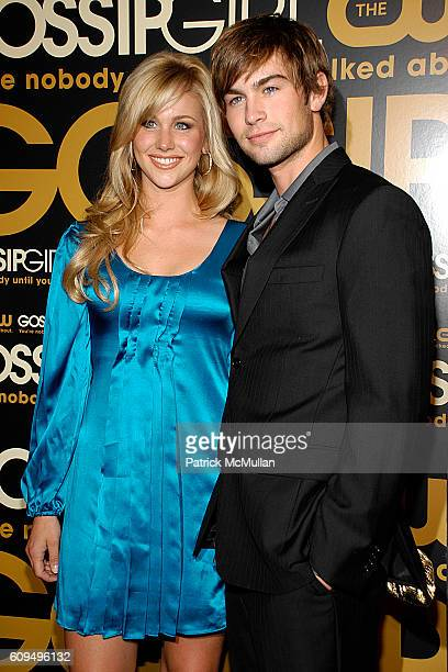 Candice Crawford and Chace Crawford attend The CW Network premieres GOSSIP GIRL at Tenjune on September 18 2007 in New York City