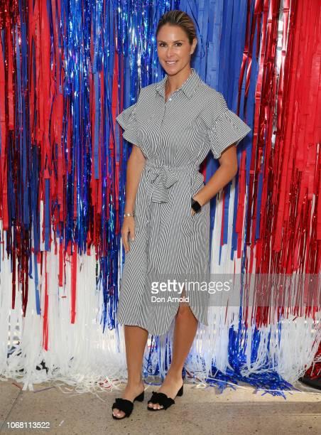 Candice Falzon attends The Athlete's Foot Breakfast on December 4 2018 in Sydney Australia