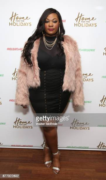 Candice Glover attends the Broadway Opening Night after party for 'Home for the Holidays The Broadway Concert Celebration' at the Copacabana in New...