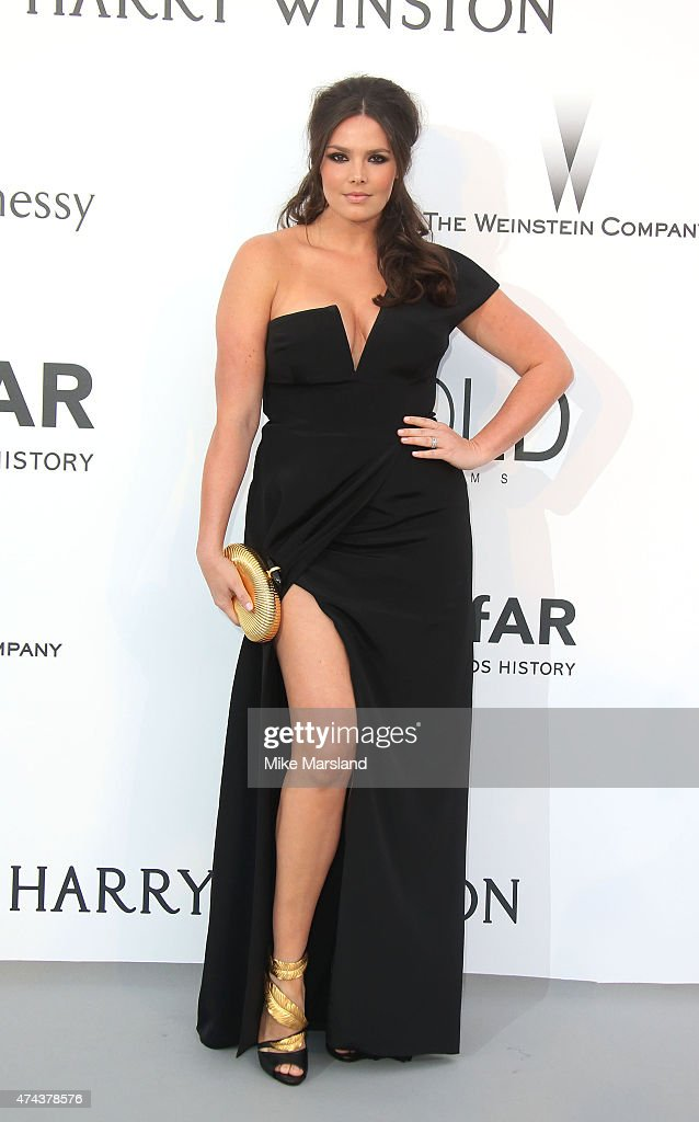 Candice Huffine attends amfAR's 22nd Cinema Against AIDS Gala, Presented By Bold Films And Harry Winston at Hotel du Cap-Eden-Roc on May 21, 2015 in Cap d'Antibes, France.