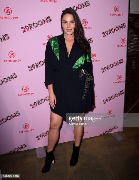 Candice Huffine attends Refinery29's '29Rooms Turn It Into Art' at 106 Wythe Ave on September 7 2017 in New York City
