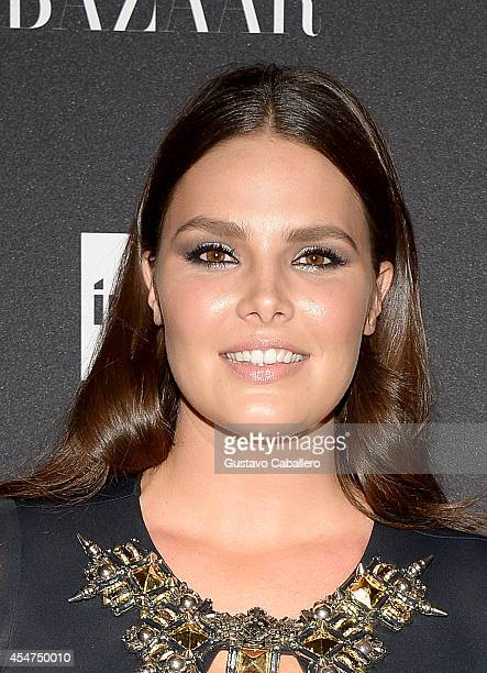 Candice Huffine attends Samsung GALAXY At Harper's BAZAAR Celebrates Icons By Carine Roitfeld at The Plaza Hotel on September 5 2014 in New York City