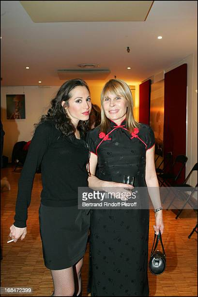 Candice Hugo and Candice Patou at Robert Hossein 77th Birthday Celebration At Palais Des Congres In Paris