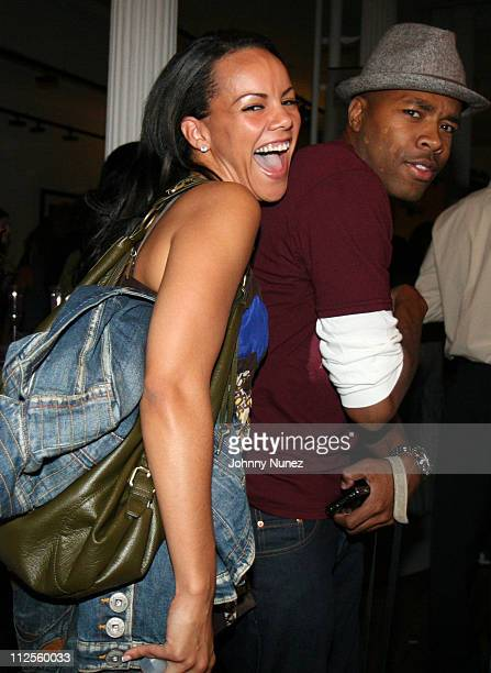 Candice Jones and DJ DNice attends Women in Entertainment Empowerment Network Launch on September 19 2007 in New York City NY