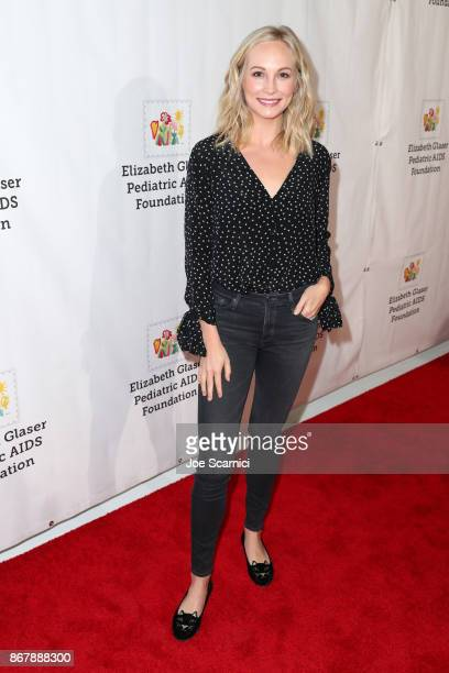 Candice King at The Elizabeth Glaser Pediatric AIDS Foundation's 28th annual 'A Time For Heroes' family festival at Smashbox Studios on October 29...