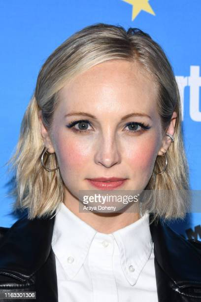 Candice King at the Entertainment Weekly ComicCon Celebration at Float at Hard Rock Hotel San Diego on July 20 2019 in San Diego California