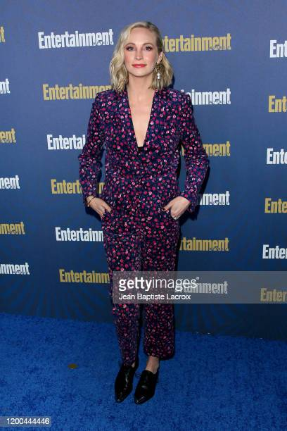 Candice King attends Entertainment Weekly PreSAG Celebration at Chateau Marmont on January 18 2020 in Los Angeles California