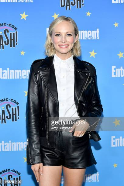 Candice King attends Entertainment Weekly's ComicCon Bash held at FLOAT Hard Rock Hotel San Diego on July 20 2019 in San Diego California sponsored...