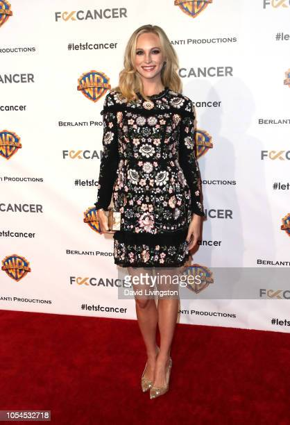 Candice King attends FCancer's 1st Annual Barbara Berlanti Heroes Gala at Warner Bros Studios on October 13 2018 in Burbank California
