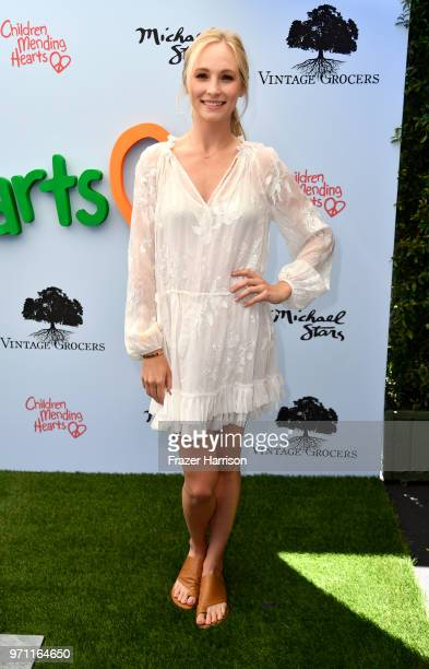 Candice King attends the 10th Annual Empathy Rocks Fundraiser at Private Residence on June 10 2018 in Bel Air California