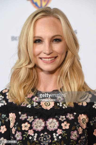 Candice King attends the Barbara Berlanti Heroes Gala Benefitting FCancer at Warner Bros Studios on October 13 2018 in Burbank California