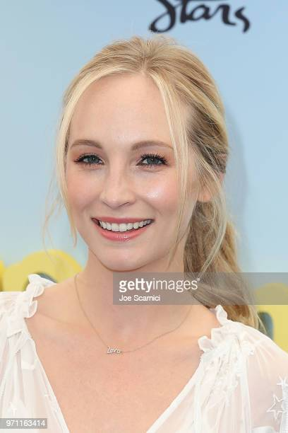 Candice King attends the Children Mending Hearts' 10th Annual Empathy Rocks Fundraiser at Private Residence on June 10 2018 in Bel Air California