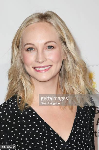 Candice King attends the Elizabeth Glaser Pediatric AIDS Foundation's 28th Annual A Time For Heroes Family Festival at Smashbox Studios on October 29...