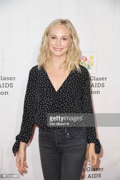 Candice King attends The Elizabeth Glaser Pediatric AIDS Foundation's 28th Annual 'A Time For Heroes' Family Festival at Smashbox Studios on October...