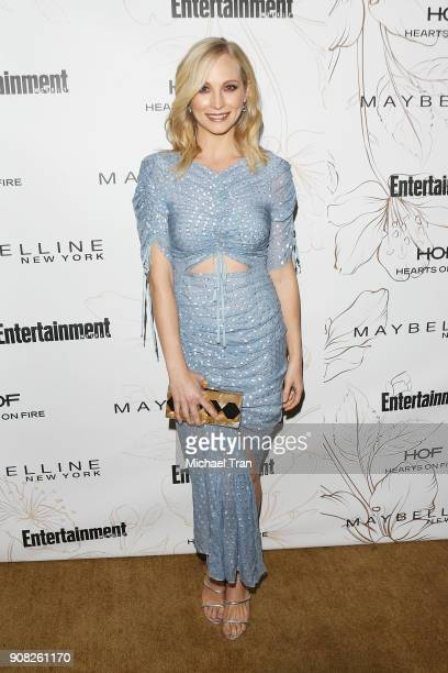 Candice King attends the Entertainment Weekly hosts celebration honoring nominees for The Screen Actors Guild Awards held on January 20 2018 in Los...