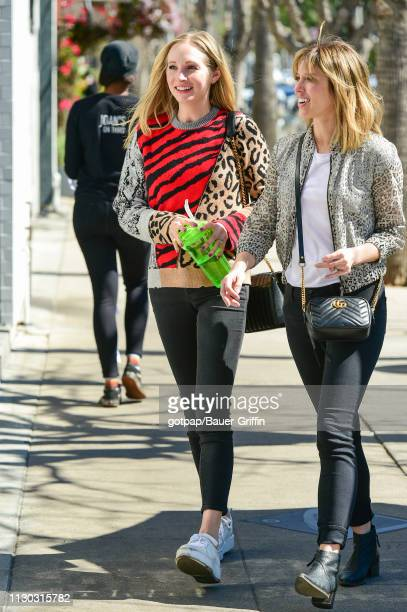 Candice King is seen on March 13 2019 in Los Angeles California