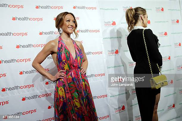 Candice Kumai and Suzanne Taylor attend 9th Annual HealthCorps' Gala at Cipriani Wall Street on April 29 2015 in New York City