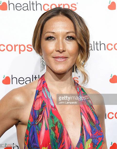 Candice Kumai attends 9th Annual HealthCorps' Gala at Cipriani Wall Street on April 29 2015 in New York City