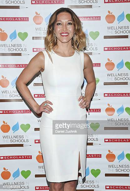 Candice Kumai attends the Wellness In The Schools 10th Anniversary Gala at Riverpark on May 5 2015 in New York City