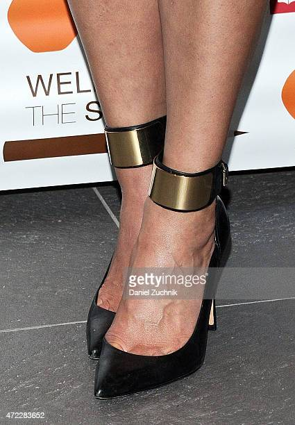 Candice Kumai shoe detail attends the Wellness In The Schools 10th Anniversary Gala at Riverpark on May 5 2015 in New York City