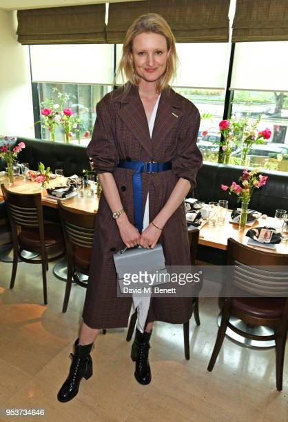 Candice Lake attends an exclusive lunch at Nobu hosted by Serafina Sama celebrating the Isa Arfen Spring/Summer 2018 pop up at Liberty on May 2 2018...