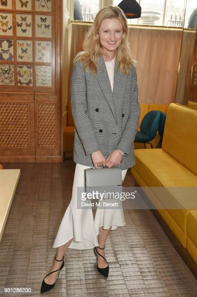 Candice Lake attends the Espie Roche launch breakfast at The Chess Club on March 13 2018 in London England