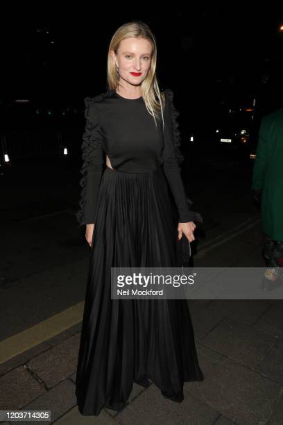 Candice Lake attends the Vogue x Tiffany Fashion Film after party for the EE British Academy Film Awards 2020 at Annabel's on February 02 2020 in...