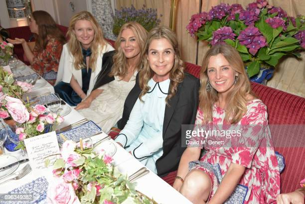 Candice Lake Kim Hersov Aerin Lauder and Amanda Brooks attend an intimate dinner hosted by Alice NaylorLeyland for friends to celebrate her Garden...