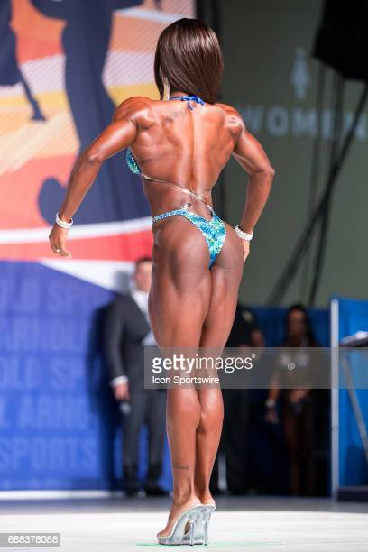 Candice LewisCarter competes in Figure International as part of the Arnold Sports Festival on March 3 at the Greater Columbus Convention Center in...