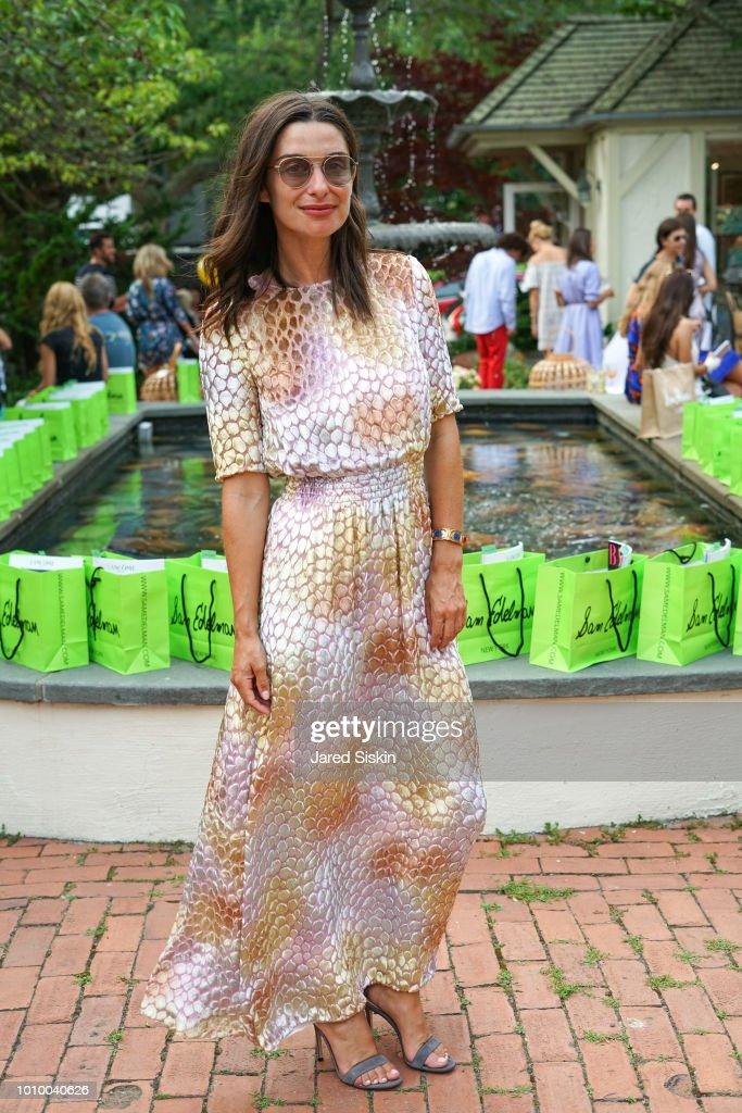 Candice Miller attends Harper's BAZAAR X Sam Edelman Mid-Summer Hamptons Event on August 2, 2018 in Southampton, New York.