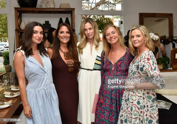 Candice Miller Lynn Scotti Lesley Vecsler Jenene Ronick and Anna Weinberg attend the Hamptons Magazine And Urban Zen x Tutto il Giorno host a VIP...