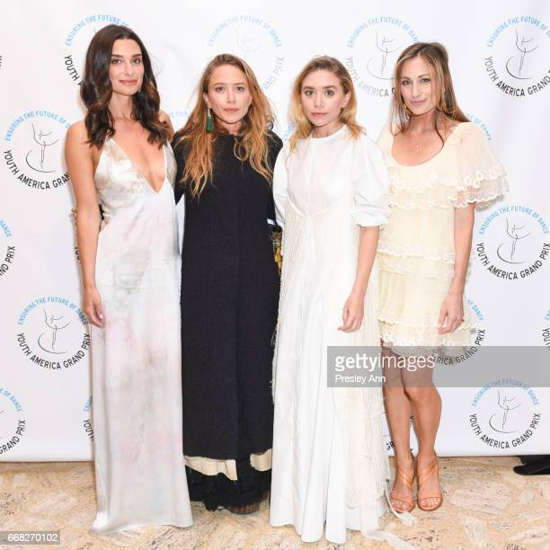 Candice Miller MaryKate Olsen Ashley Olsen and Marcella Guarino Hymowitz attend Youth America Grand Prix's 2017 Stars of Today Meet the Stars of...