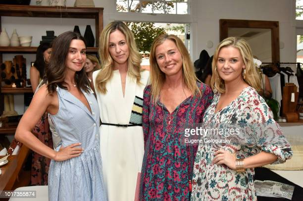 Candice MillerLesley Vecsler Jenene Ronick and Anna Weinberg attend the Hamptons Magazine And Urban Zen x Tutto il Giorno host a VIP Dinner at Urban...